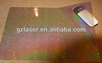 Hologram polyester hot melt adhesive glue backing film