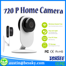 Temperature Humidity Detection Smallest P2P WIFI Mirror CCTV Camera To Watch Baby Wireless Hidden 720P IP Network