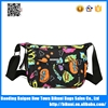 2017 New design fashion flower printing sport women shoulder bag from China