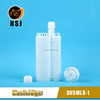 385ml 3:1 AB Dual Soft Silicone Glue Tube Cartridge