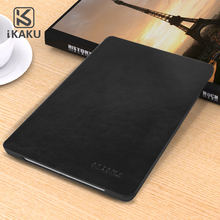 KAKU newest popular flip bracket luxury smart leather shockproof case cover for ipad air1 air2 case with stand