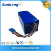 solar battery 72V 40ah for electronic car and electronic boat golf car battery