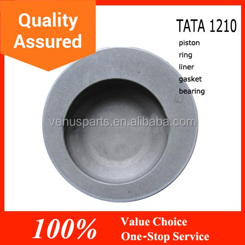 high quality tata hitachi engine parts piston 12120 and 1210