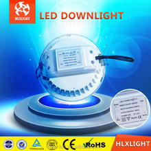 2013 hotsale! Sharp cob led downlight 6 w/10 w/15 w/20 w pintura blanca + gris plata
