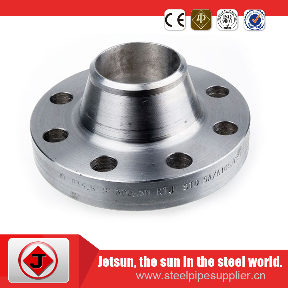 steel tubing welding neck flanges