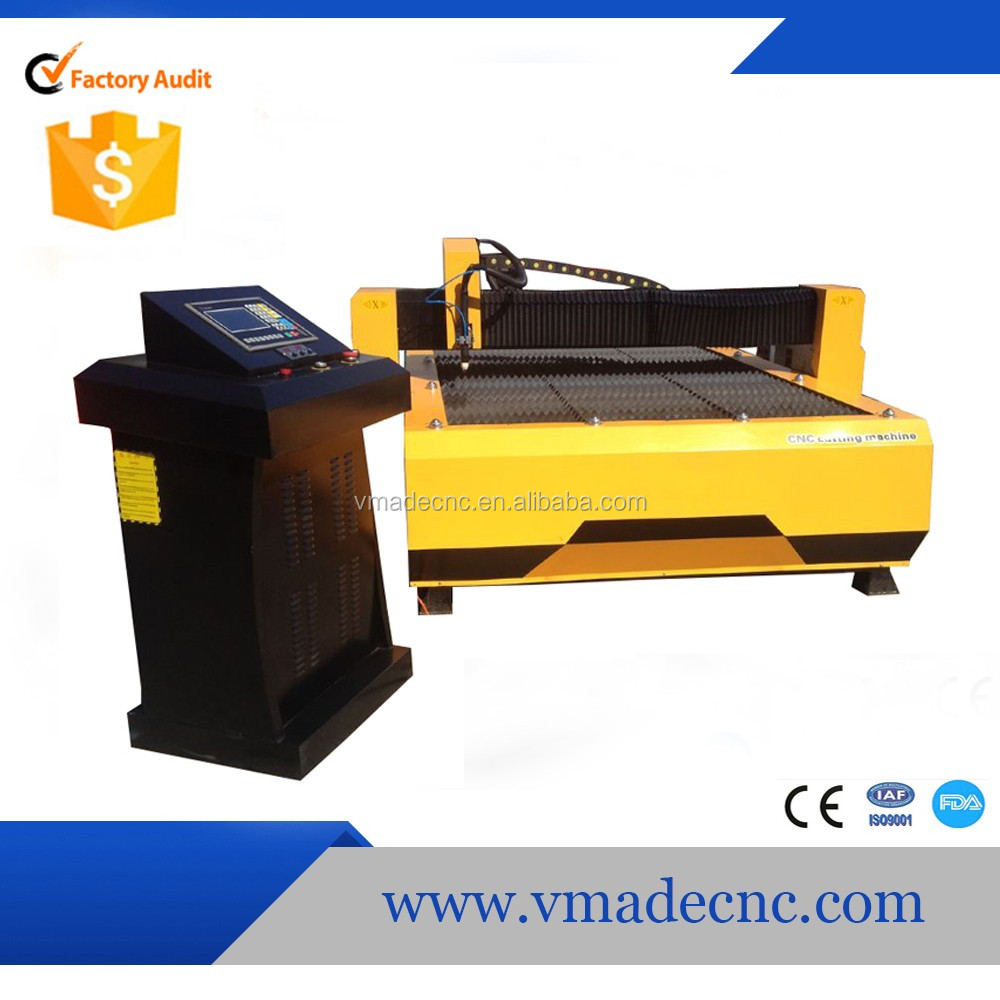 Jinan plasma power metal cutting 1530 60A 100A 130A Source Plasma Cutter Machine for steel with cheap price