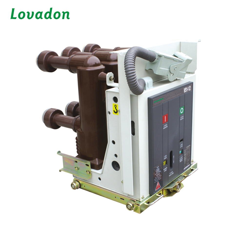 Types vcb ZN63A / VS1-12 indoor 12kV High Voltage Vacuum Circuit Breaker
