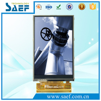Industrial lcd manufacture 3.2 inch tft lcd display 240x400 dots resistive touch screen with anti-glare