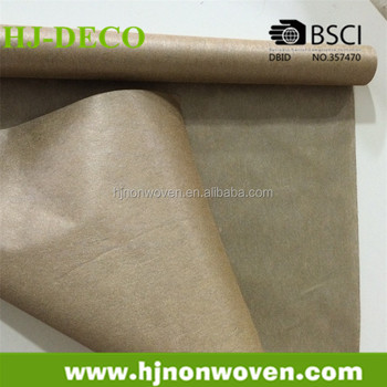 new style bright coating non-woven for flower wrapping paper