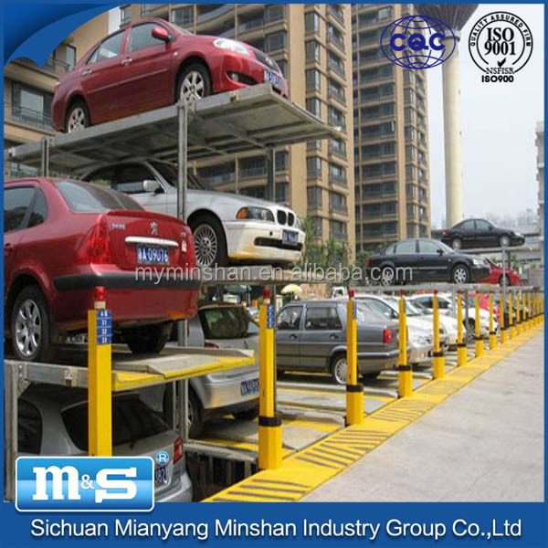 Mechanical Automatic Car Parking System