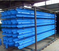 Corrugated Highway Armco Guard Rails two waves 4320*310*85*3mm for road construction Advanced System