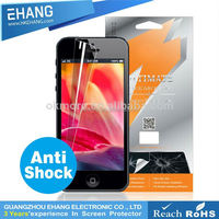 Hot sell products anti-shock Pet material anti shock screen cover for iphone 4s