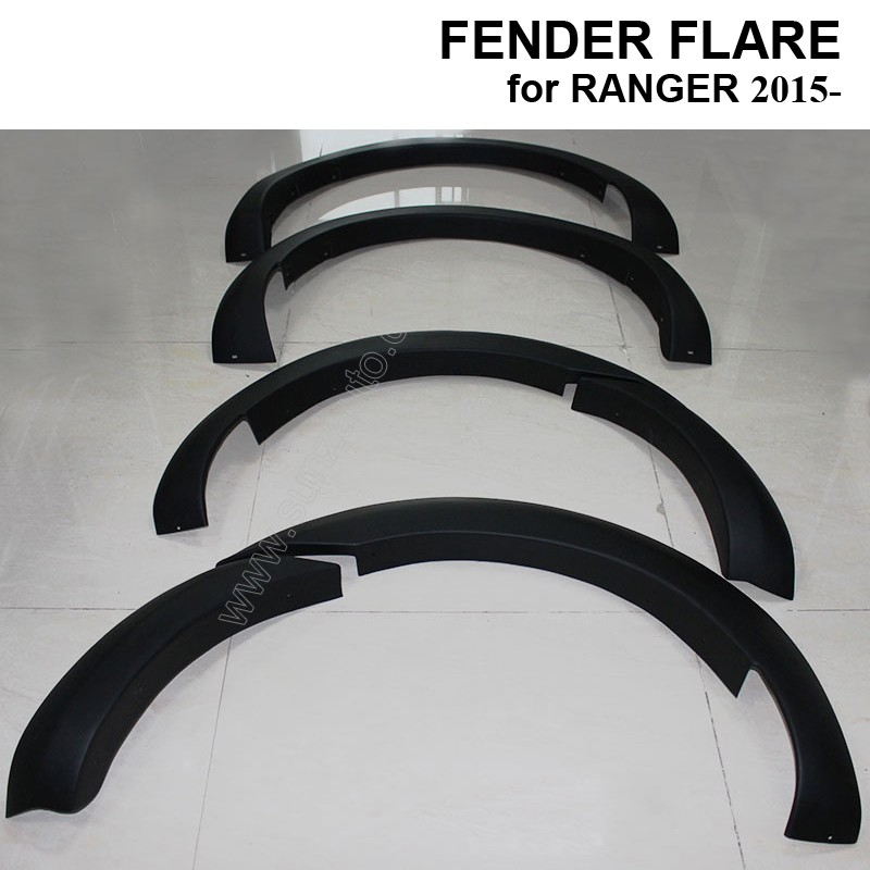 Abs Bumper Fender Covers Flares Molding Trim Wheel Trim
