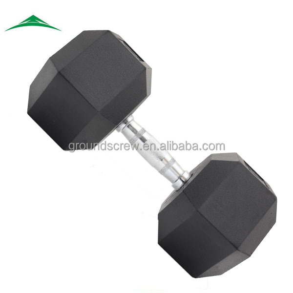 High Quality Rubber Dumbbell Set for Weight Lifting