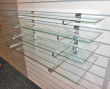Assortment of endless design possibilities to create the space Glass Shelf Clip Kits