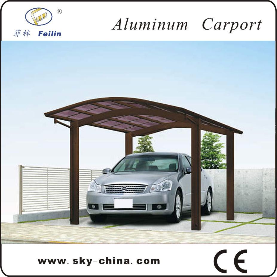 Mobile carport aluminum carport buy mobile carport metal for Single car carport dimensions
