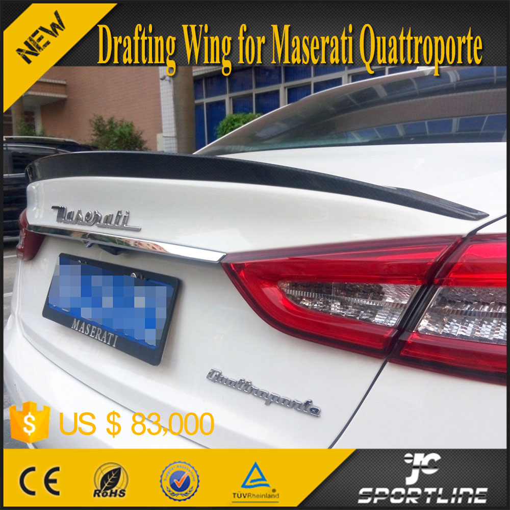 Carbon Fiber Drafting Wing for Maserati Quattroporte GT 13-15