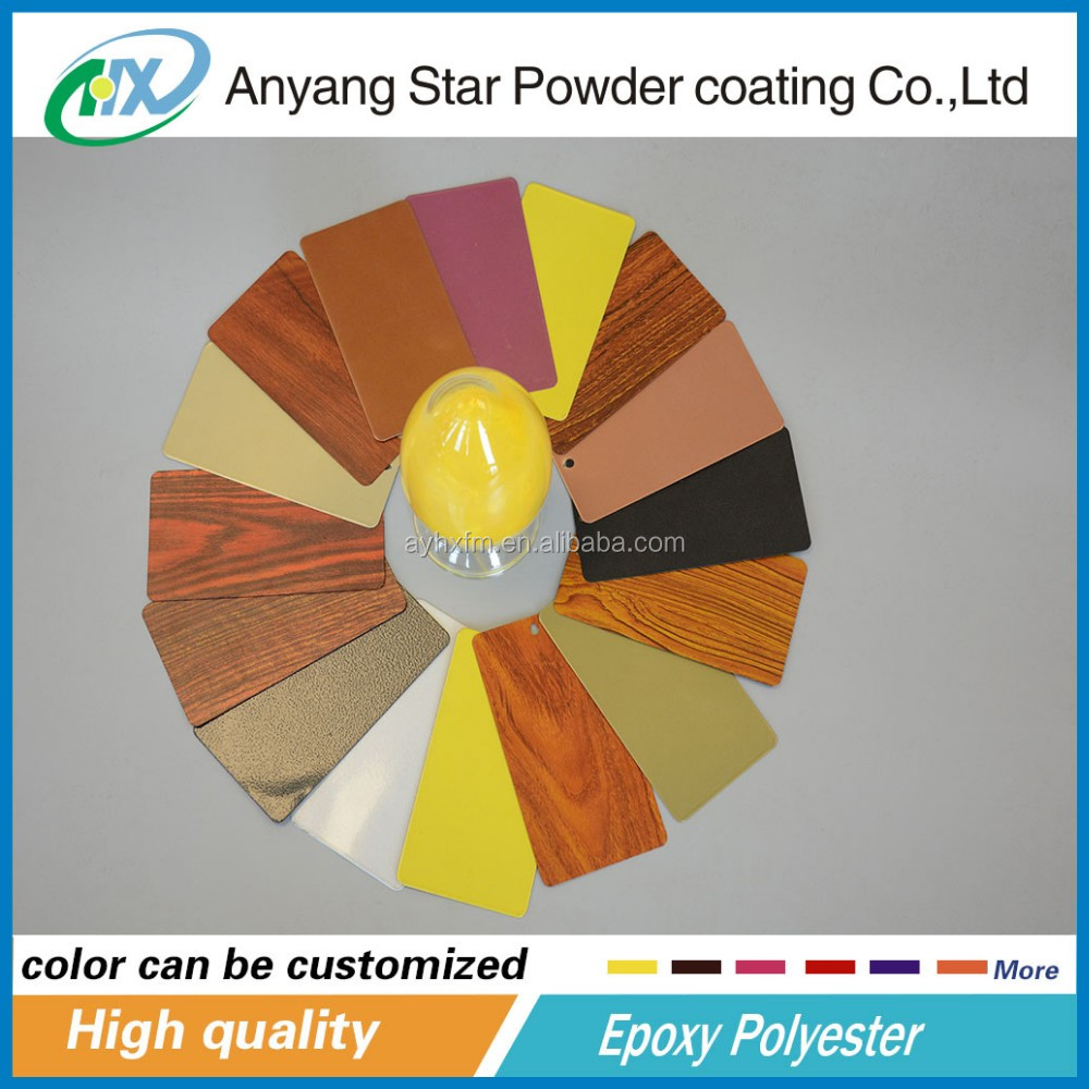Anyang Star coating for metal surface epoxy resin thermal transfer coating powder