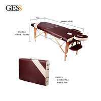 2014 Factory Wholesale PU Leather Bed Massage Durable Table Massage