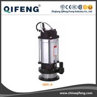 QDX Submersible drainage clean water pump,water slide pump