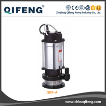 QDX Submersible drainage clean water pump,water slide pump