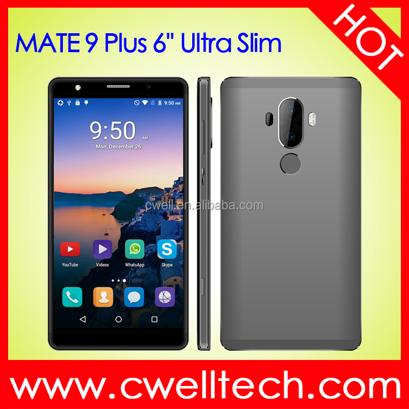 MATE 9 Plus Quad Core Metal Cover Ultra Slim 1GB RAM/8GB ROM 6 Inch Android Smartphone