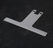 China Made Required Size Serrated Knife Blade