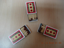 Three Star Safety Matches, Matches