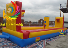 funny inflatable 2player basketball shooting games for kids