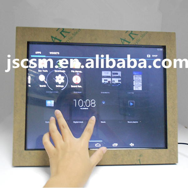 large size android multi function photo album 15 inch touch screen digital photo frame