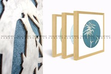 Vintage home decor frames photo modern glass painting pictures