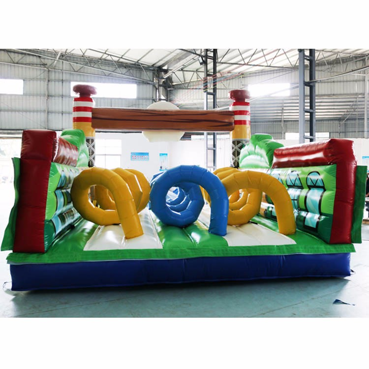 inflatable obstacle course
