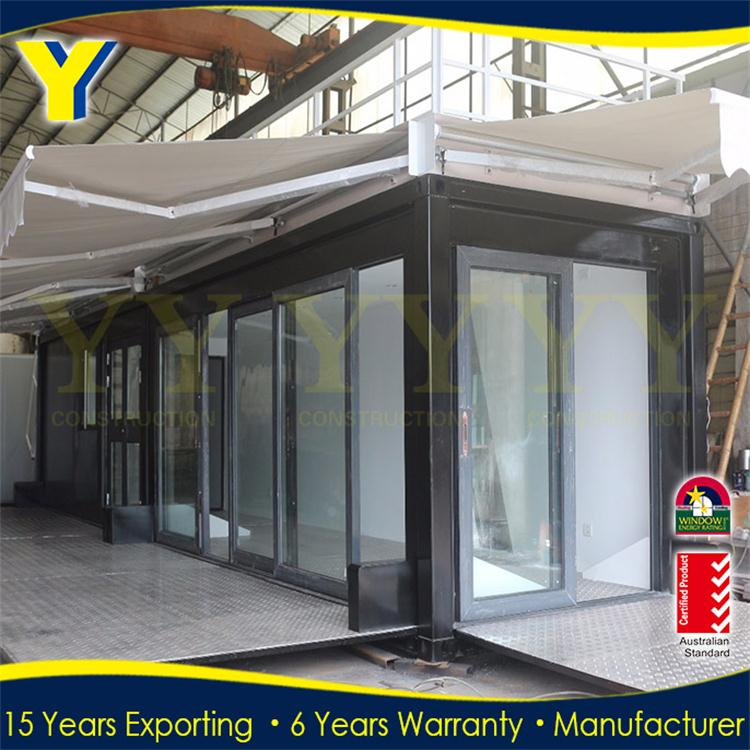 Australian standard container and modular house aluminium glass sliding aluminum doors system