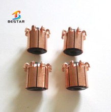 ID4*OD10.5*H12.5 -8segment auto pre-heater motor commutator, free samples