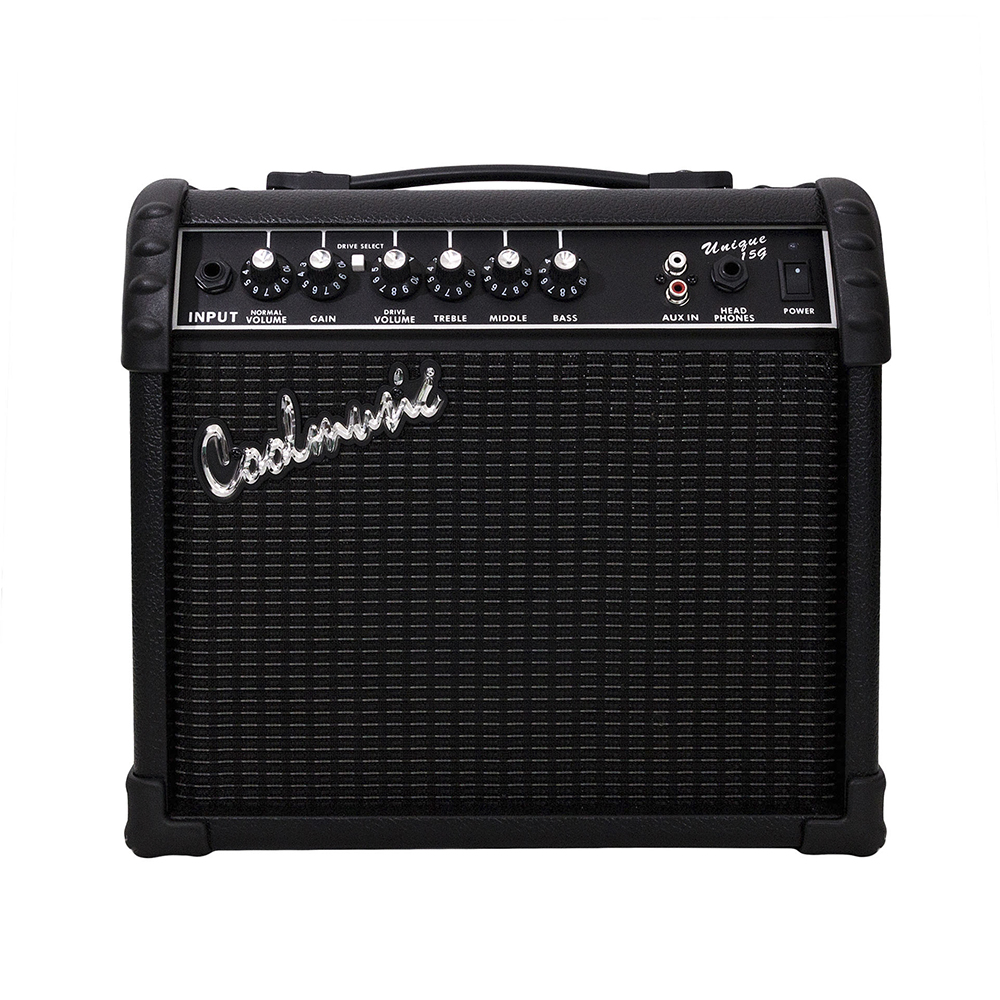 Coolmusic 15watts Guitar Amplifier Practice Home Mini Amplifier