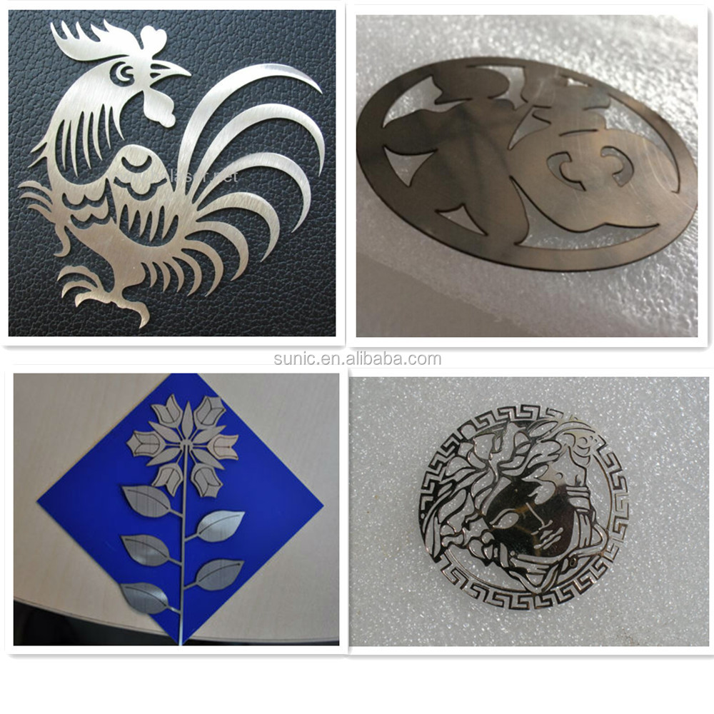 metal and non-metal CO2 laser cutting machine for cutting metal steel acrylic wood MDF