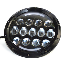 projector headlight housing 75w headlight for jeep tj wrangler 4x4 accessories off-road 7' headlamp