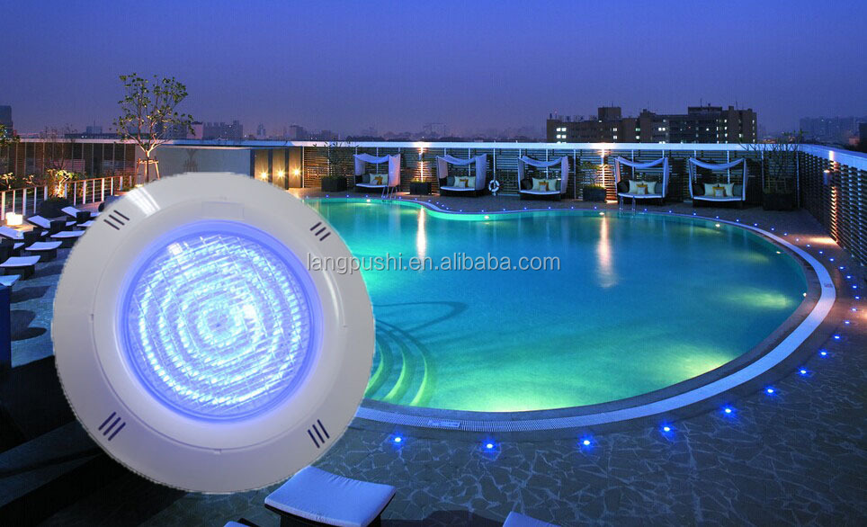 36w 3000lm led lights ip68 wall mounted swimming pool light waterproof underwater lamps