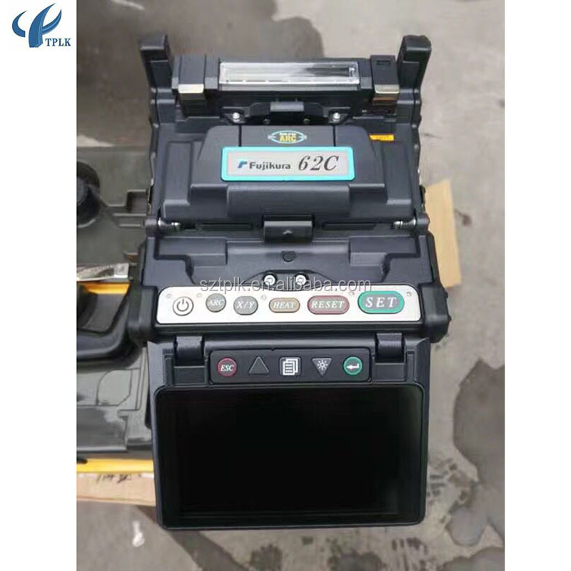 Alibaba Factory supply fusion splicer FSM 21S/22S/62C/62S/80C/80S splicing machine on sale optical fiber welding machine