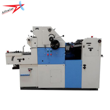 High Precision Single Color Mini Offset Printing Machine With Numbering Function