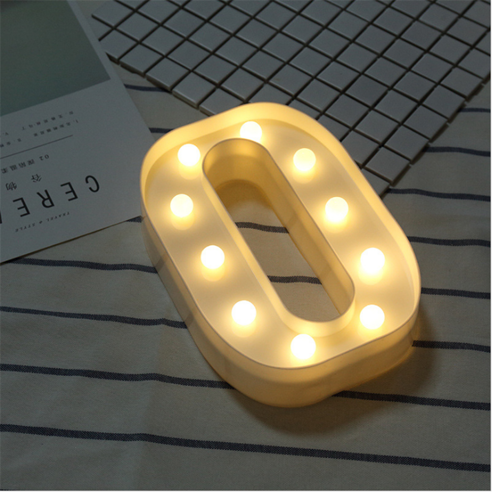 ON SALE Light Up Letters Warm White LED Letter Alphabet Letter Lights for Festival Decorative