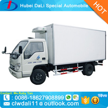 2 tons Food Maintain Cooling Van Transport Truck