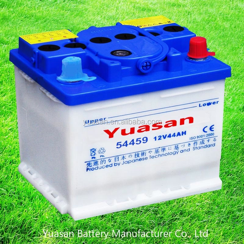 Yuasan Super DIN 44AH Motor Start Battery Lead Acid Dry 12V Battery -54459