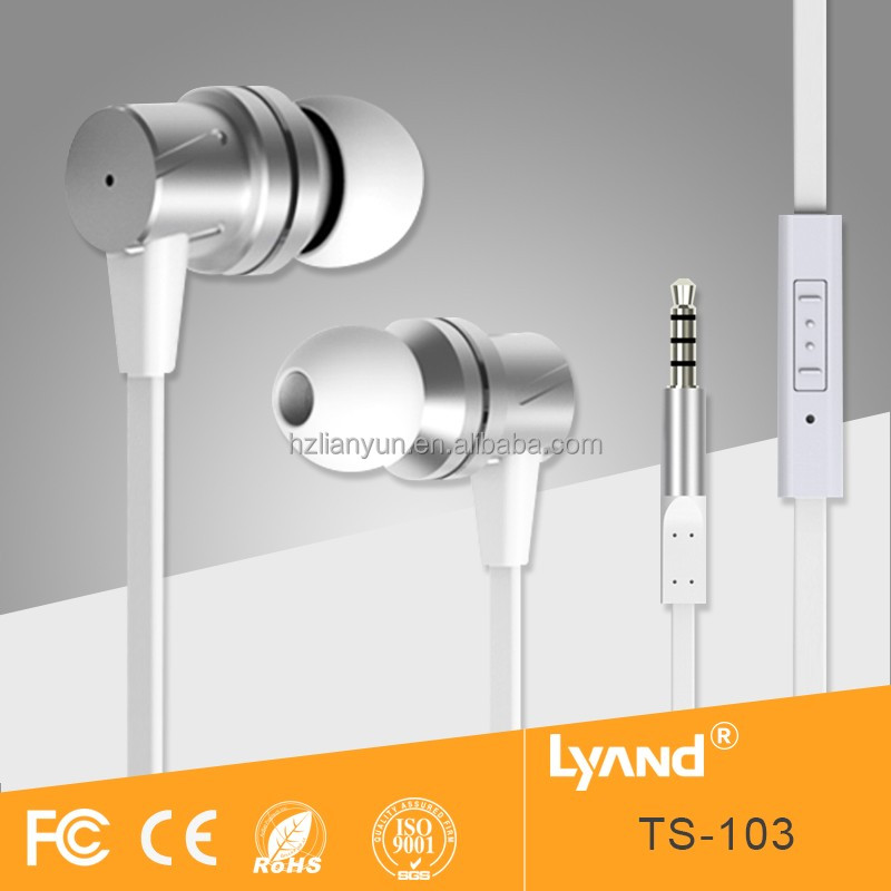 Cheap Gift Mobile Phone Headphone Running Music Earphone with Silicon Earphone Covers