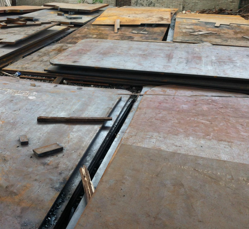 Carbon Plate Alloy Plate hr steel plate 200mm thick Structural Steel Price Per Ton iron and steel flat rolled products
