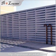 High acoustic attenuation with good airflow acoustic louver & solar shutter
