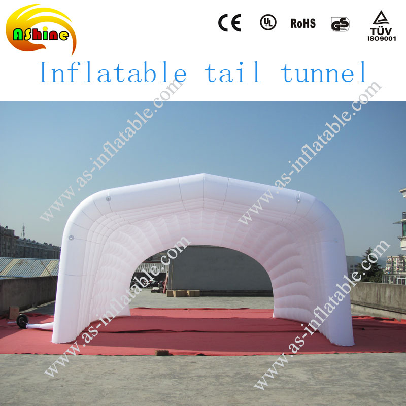 White fashion inflatable air tent price