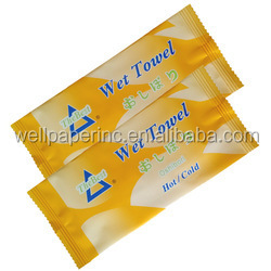 Pre-moistened Hand Wipes Wet Napkins Extra Thick Large Towel Customized  Size and packing  for Home, Office, Picnic, HoHotel