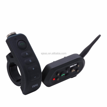 2-6 riders intercom motorcycle with remote control