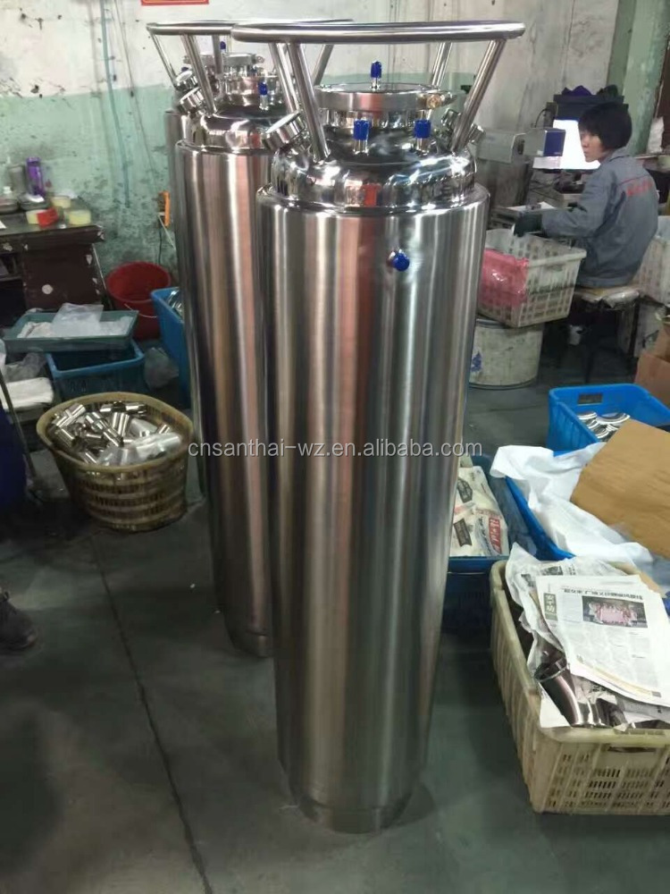 "SS304 12""X 48"" Bho Extractor Solvent Tank"